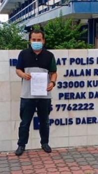 'Poster Fahmi berunsur fitnah, timbul kebencian pada MB Perak'
