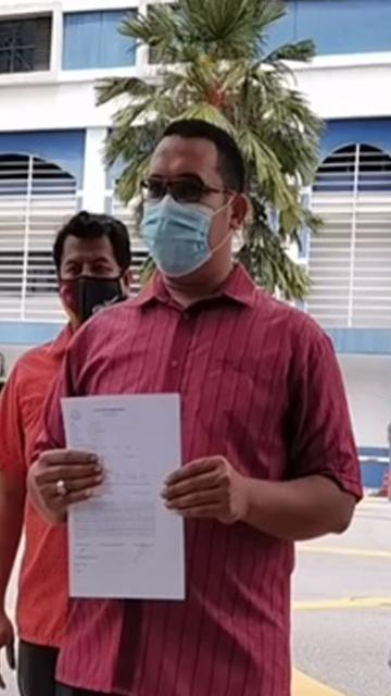 'Kenyataan Takiyuddin biadap, kurang ajar!' - Pemuda PH lapor polis