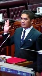 Earlier today: Radzi Jidin sworn in as senator in Dewan Negara