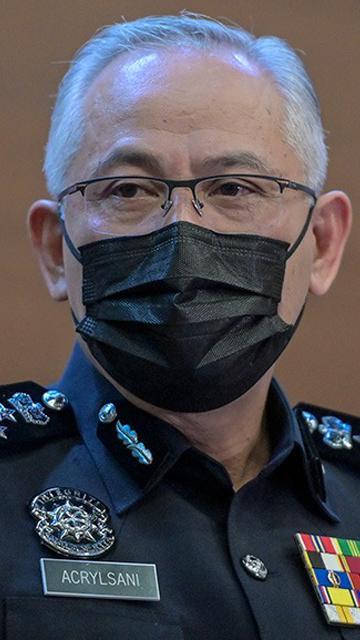 [Siaran semula] Sidang media Ketua Polis Negara Acryl Sani berhubung pelaksanaan PKPD
