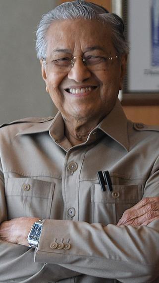 LIVE: Dr Mahathir mempengerusikan sidang media Pejuang