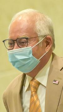 LIVE: Former prime minister Najib Abdul Razak holds press conference