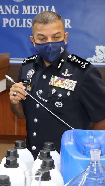 Polis Johor tumpas sindiket dadah antarabangsa, 10 ditahan