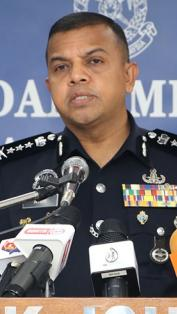 LIVE: Sidang media Ketua Polis Johor, Ayob Khan Mydin Pitchay