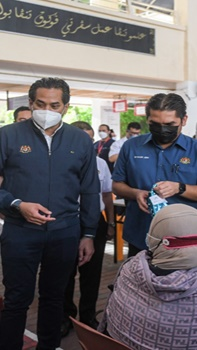 Walk-in vaccination centres for adolescents to be announced tomorrow, says Khairy