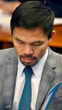 Bintang tinju Manny Pacquiao umum tanding Presiden Filipina