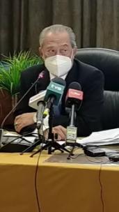[Siaran semula] : LIVE: Sidang media Pengerusi Majlis Pemulihan Negara, Muhyiddin Yassin