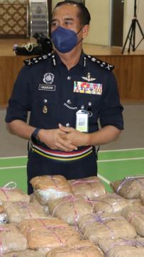 Kopi sepatutnya dihantar ke Filipina gagal, polis rampas syabu RM14.33 juta