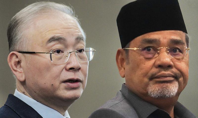 """""""Menteri jangan syok sendiri"""", bidas Tajuddin kepada Menteri Pengangkutan"""